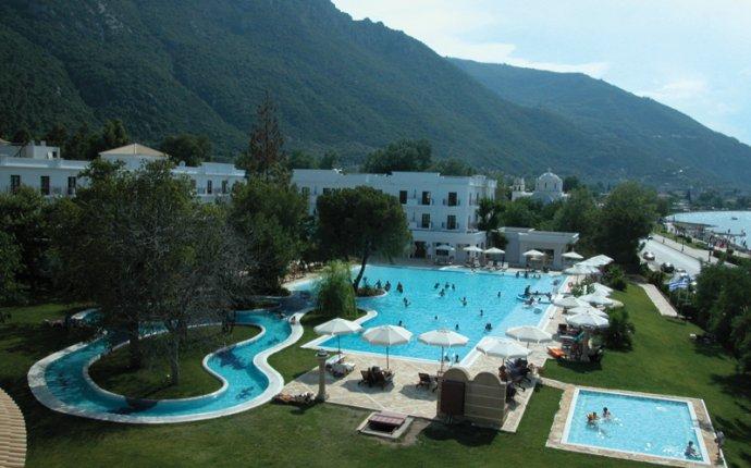 Central Greece, Spa Resort Galini in Kamena Vourla, Fthiotida, Greece