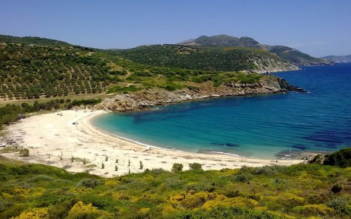 Euboea is the second largest island in Greece. It s separated with