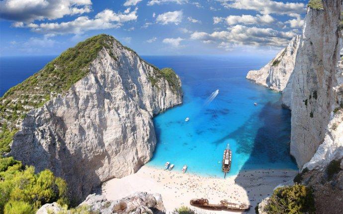 Navagio beach, zakynthos, greece photo | One Big Photo