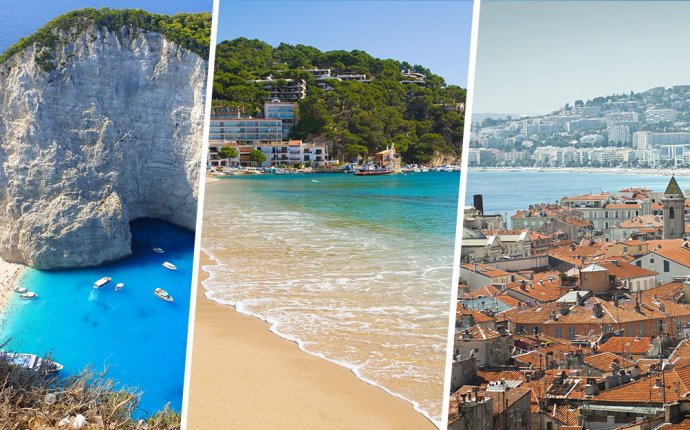 Study Abroad on the Beaches of Greece, Spain and France