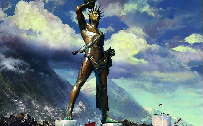The Colossus of Rhodes | Series Seven Wonders of the World