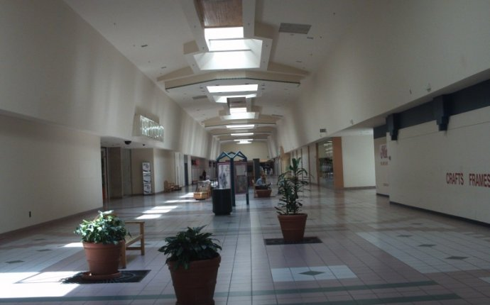 What remained of the former Greece Towne and Long Ridge Mall in