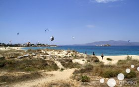 Best Greek islands for windsurfing and kite: Naxos