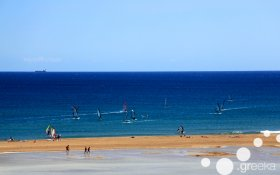 Best Greek islands for windsurfing and kite: Rhodes