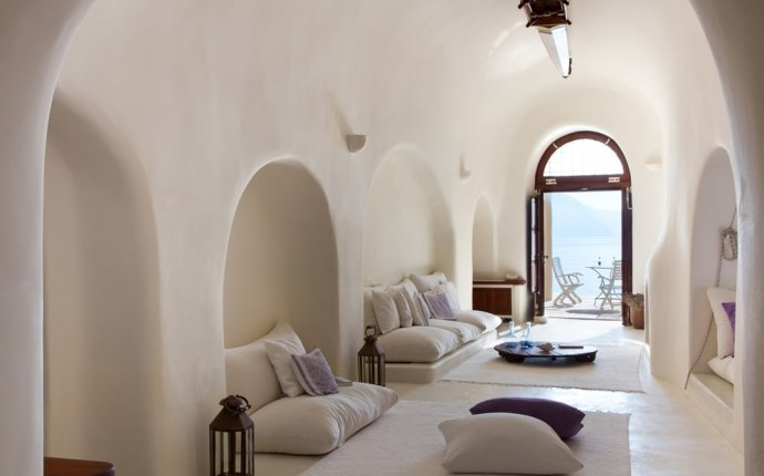Hotels on Santorini Island Greece