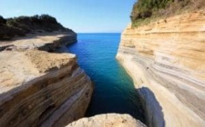 Erosion at the Coast, Sidari, Corfu