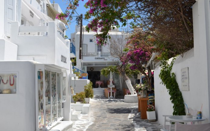 Attractions in Mykonos Greece