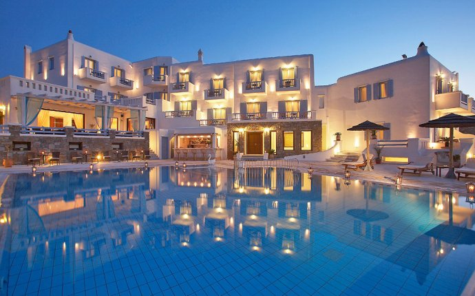 Hotels in Mykonos Greece Beach