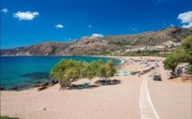 Paleochora - half a mile of superb sandy beach
