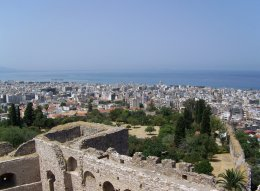 Patra, Greece from the fortress
