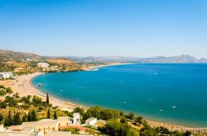 Rhodes, Greece has more than 220km of stunning coastline