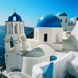 Santorini is considered one of the top island destinations in the world.
