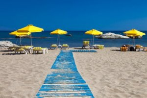 Spend a day at Stegna Beach during your holiday in Rhodes, Greece