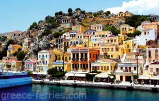 Symi Dodecanese Greek Islands Greece