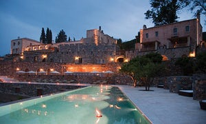 The Kinsterna hotel, at Monemvasia, Greece.