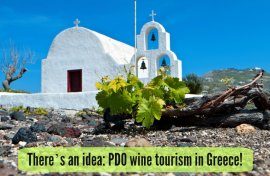 There's an idea: PDO wine tourism in Greece! 1