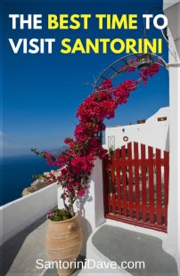 When is the best time to visit Santorini? A guide to the best months to go to Santorini.